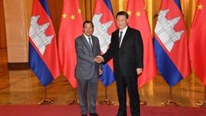 Thủ tướng Hun Sen tới thăm Trung Quốc trong thời điểm dịch nCoV