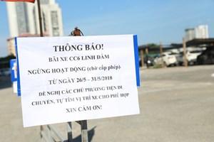 Quận Hoàng Mai (Hà Nội): Quyết tâm xóa bỏ các bãi giữ xe không phép