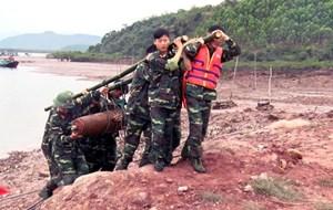 Quảng Ninh di dời thành công một quả bom nặng 225 kg