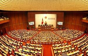 Ngày làm việc đầu tiên của Kỳ họp thứ 9, Quốc hội khóa XIV