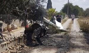 Tây Ban Nha: Trực thăng va chạm máy bay hạng nhẹ, 5 người thiệt mạng