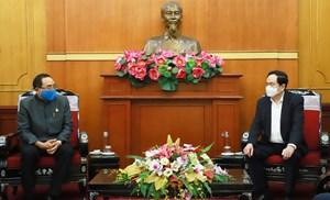 BẢN TIN MẶT TRẬN: Chủ tịch Trần Thanh Mẫn tiếp nhận ủng hộ từ Đại sứ quán Thái Lan tại Việt Nam