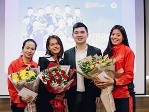 Trao thưởng cho 3 nữ VĐV nghị lực giành huy chương ở SEA Games 30