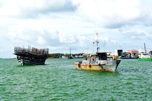 Quảng Nam: Thăm hỏi, hỗ trợ thuyền viên tàu câu mực gặp nạn ở vùng biển Trường Sa