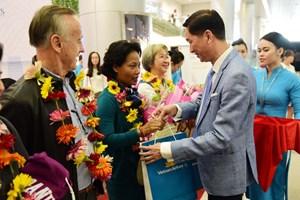 Thành phố Hồ Chí Minh: Tổ chức đón khách quốc tế đầu tiên năm 2018