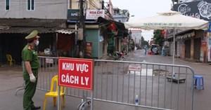 Cách ly ở thôn Hạ Lôi: Đảm bảo nhu cầu thiết yếu cho người dân
