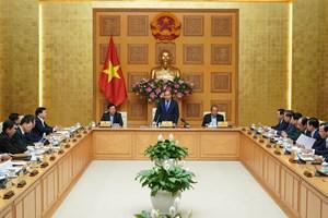 Thủ tướng chủ trì họp về tình hình Tết và phòng, chống dịch nCoV