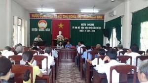 Thừa Thiên - Huế:Mặt trận huyện Quảng Điền thực hiện tốt các phong trào,cuộc vận động