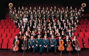 Dàn nhạc Lực lượng Vệ binh Quốc gia Nga sang Việt Nam biểu diễn