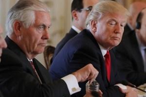 Tổng thống Mỹ Trump bất ngờ cách chức Ngoại trưởng Rex Tillerson