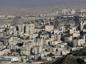 Biểu tình phản đối xây khu định cư Do Thái ở Bờ Tây