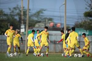 [ẢNH] Đội tuyển U23 Việt Nam ráo riết chuẩn bị cho trận đầu ra quân