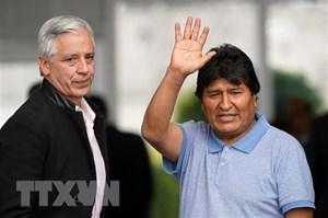 Cựu Tổng thống Bolivia sẵn sàng trở về nước nếu được yêu cầu
