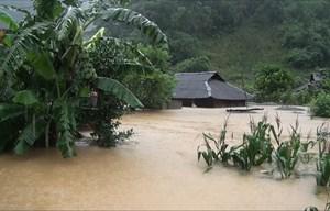 Bão số 3: Nhiều tuyến đường ở Sơn La bị trượt ta luy dương và ngập úng
