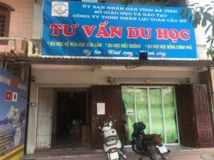 Vụ núp bóng du học để XKLĐ ở Hà Tĩnh: Đề nghị thu hồi giấy phép hoạt động của Cty Toàn Cầu