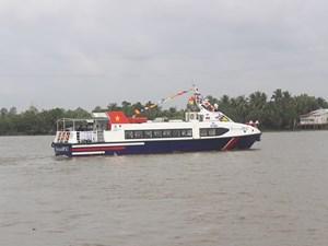 Tuyến đường thủy mới từ Bến Tre đi Vũng Tàuchỉ mất 2 giờ