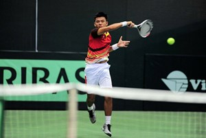 Tuyển VN đứng đầu bảng A tại Davis Cup 2018