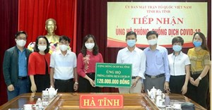 Hà Tĩnh: Hơn 51 tỷ đồng ủng hộ công tác phòng, chống dịch Covid-19