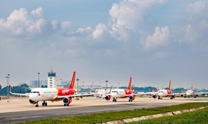 Vietjet thông báo tăng cường chuyến bay nối Hà Nội - TP HCM