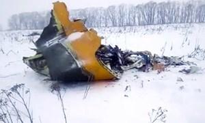 [VIDEO] Khoảnh khắc máy bay Nga chở 71 người rơi