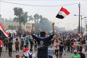 Iraq triển khai lực lượng ngăn chặn biểu tình bạo lực