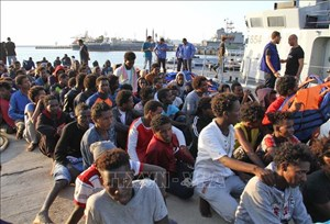 Libya giải cứu hơn 7.000 người di cư trong năm nay