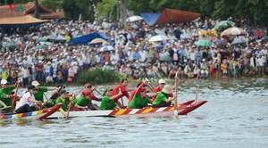 Huế: Đua ghe mừng Quốc khánh trên sông Hương