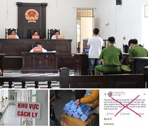 Xử lý nghiêm tội phạm liên quan đến phòng, chống dịch Covid-19