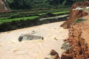 Cảnh báo lũ quét, sạt lở đất và ngập lụt cục bộ tại Phú Yên, Bình Thuận và Kon Tum