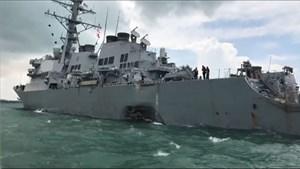 10 thủy thủ mất tích sau vụ chiến hạm Mỹ va chạm tàu hàng