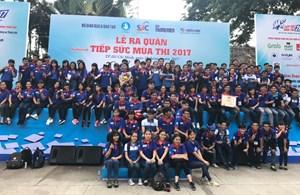 10.000 lượt sinh viên tình nguyện tham gia 'Tiếp sức mùa thi 2017'