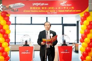 Liên tục mở đường bay đến Nhật Bản, Vietjet kết nối TP HCM với Tokyo