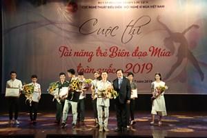 Bế mạc Cuộc thi Tài năng trẻ Biên đạo Múa toàn quốc 2019