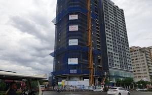 Đà Nẵng: Phạt nhà thầu để móc cẩu vận thăng rơi từ tầng 23 xuống đất