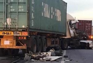 Lại xảy ra tai nạn giao thông trên Quốc lộ 5 qua Kim Thành, Hải Dương