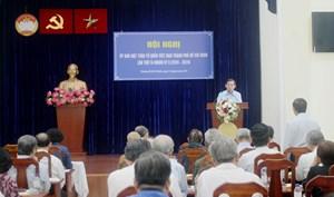 TP HCM: Hiệp thương danh sách dự Đại hội toàn quốc MTTQ Việt Nam
