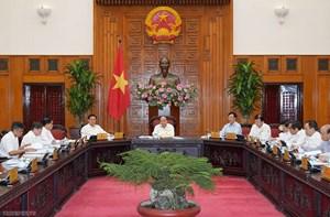 Thường trực Chính phủ họp về tăng trưởng vùng