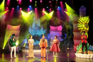 'Giấc mơ nàng tiên cá' của Nhà hát Tuổi trẻ chinh phục khán giả nhí phía Nam