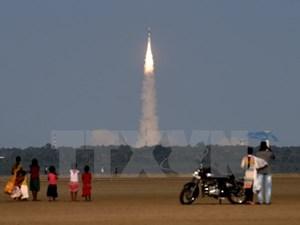 Ấn Độ phóng thành công vệ tinh thời tiết tiên tiến INSAT-3DR