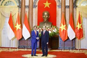 [ẢNH] Lễ đón Tổng thống Indonesia tại Phủ Chủ tịch