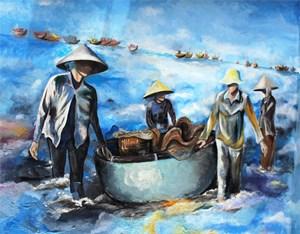 [ẢNH] Thêm một làng bích hoạ ở Quảng Nam