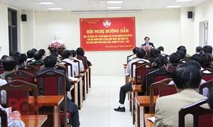 Bắc Giang: Hoàn thành tổ chức hội nghị lấy ý kiến cử tri nơi cư trú