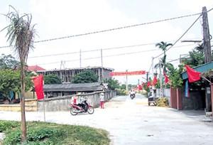 Bắc Giang: Huyện Việt Yên đón Bằng công nhận đạt chuẩn nông thôn mới