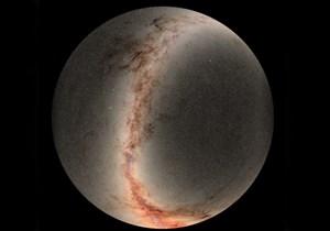 Bản đồ vũ trụ mới thể hiện hơn 800 triệu ngôi sao
