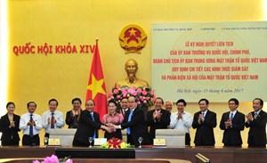 BẢN TIN MẶT TRẬN: Phát huy vai trò giám sát và phản biện xã hội của MTTQ Việt Nam