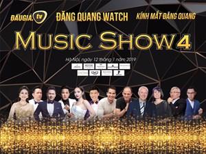 Bằng Kiều tái ngộ khán giả trong đêm nhạc Đăng Quang Music Show 4