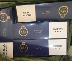 Bắt 1.430 bao thuốc lá 555 lậu