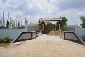 Biệt thự xây trái phép của sếp công ty thoát nước có cơ thoát hiểm
