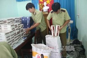 Bình Thuận: Bắt giữ 3.800 gói thuốc lá nhập lậu