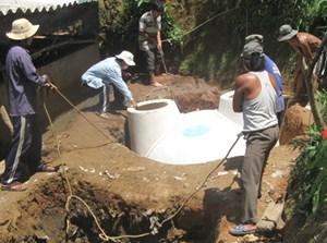 Cảnh giác với ngộ độc khí từ hầm biogas